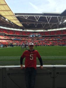 A Bucs fan in England, Bills at Jags in London