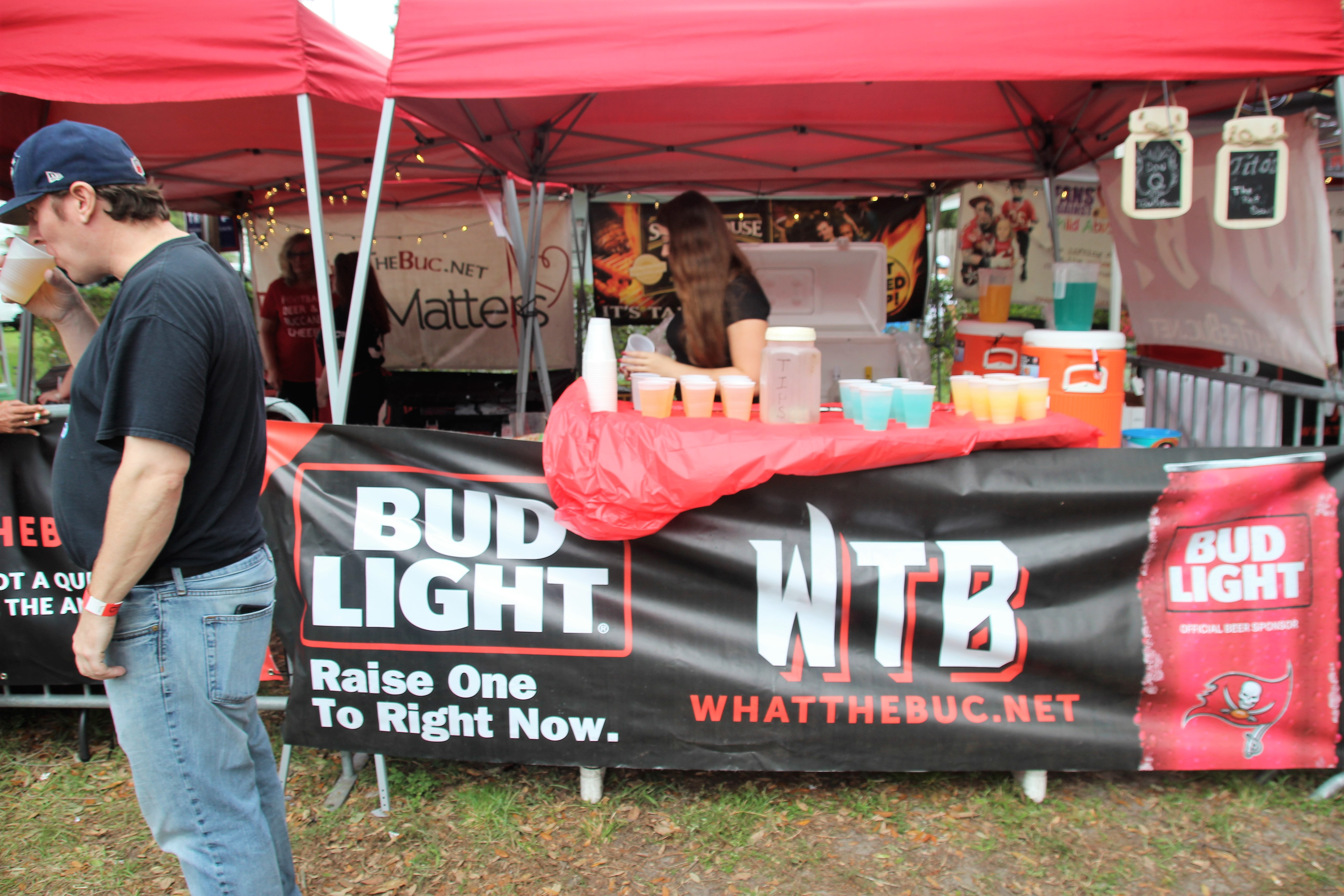 WTB - Bucs versus Patriots Tailgate & 91st Consecutive Tailgate: Pats versus Bucs - What The Buc?